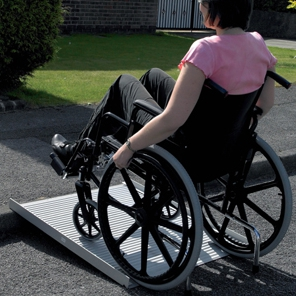 Roll-Up Wheelchair Ramp