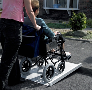 Fixed Length Broad Wheelchair Ramp