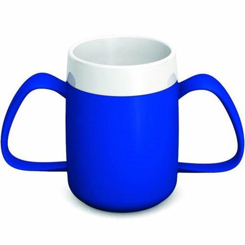 Ornamin Two Handled Mug + internal cone - 200ml