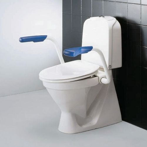 Support Arms for Toilet