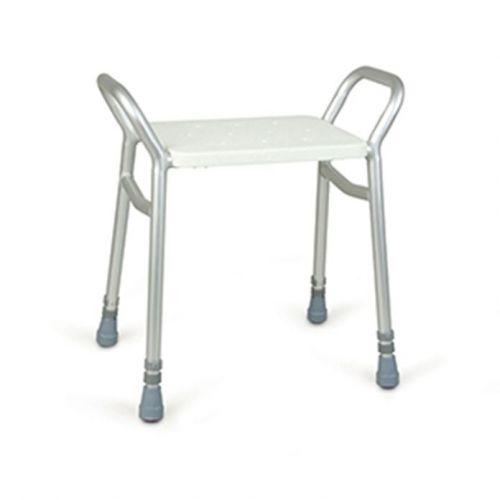 Lightweight Adjustable Height Shower Stool