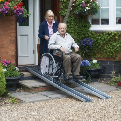 Mobility Care Lightweight Telescopic Channel Ramps