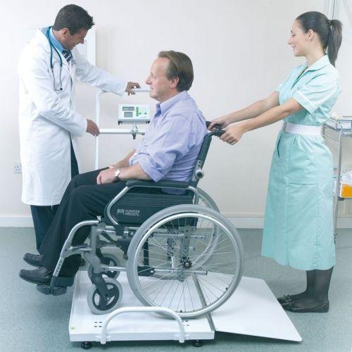 MPWC-300 Marsden Portable Wheelchair Scales with BMI