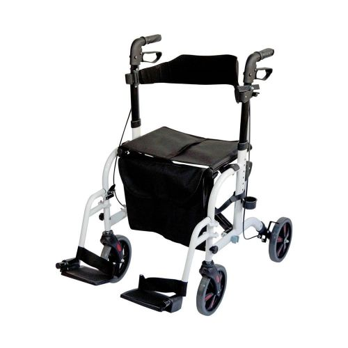 Aidapt Duo Rollator and Transit Chair
