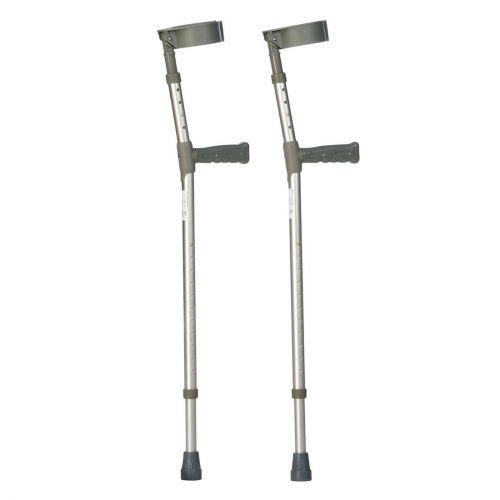 Aluminium Forearm Crutches Double Adjustable
