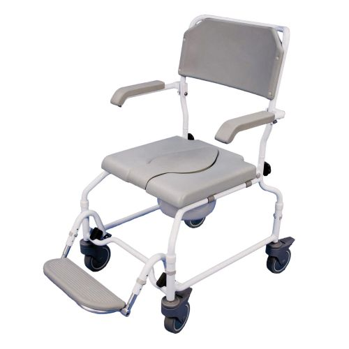 Bewl Adjustable Height Shower Commode Chair