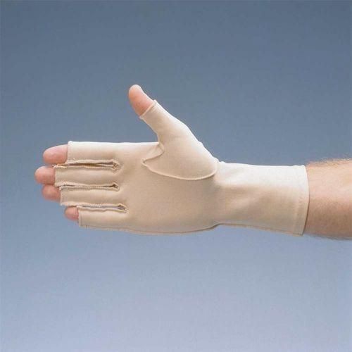 Compression Hatch Oedema Glove Open Finger