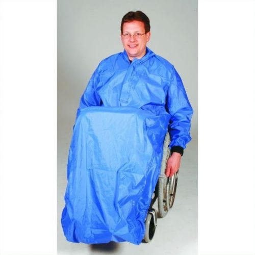 Hooded Waterproof for Wheelchair User