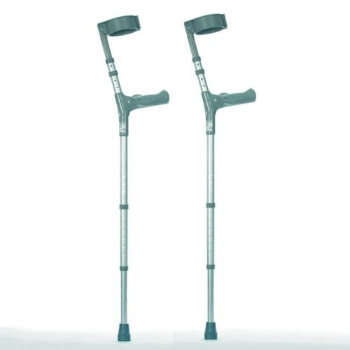 Elbow Crutches with Comfy Handle - Double Adjustable Crutches