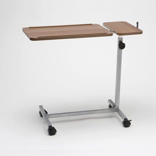 Deluxe Overbed Table With Twin Top