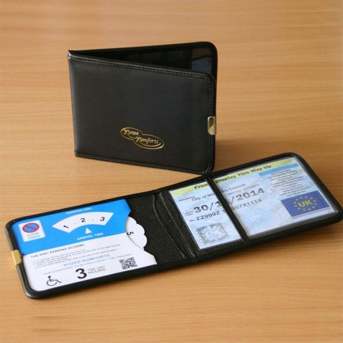 Disabled Leather Park Wallet