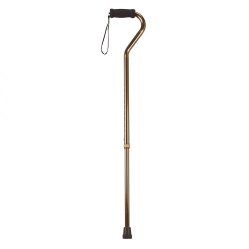 Swan-Neck Walking Stick With Soft Grip