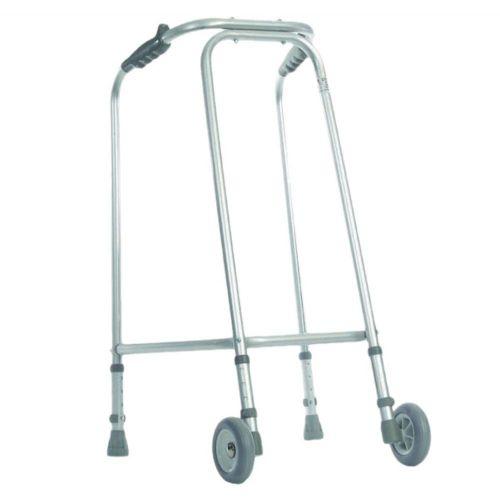 Ultra Narrow Walking Frame With Wheels