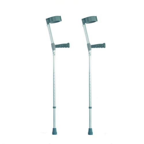 Elbow Crutches With PVC Handles