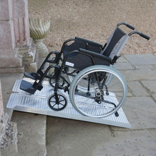 Folding Suitcase Wheelchair Ramps