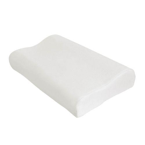 Gel and Memory Foam Contoured Pillow