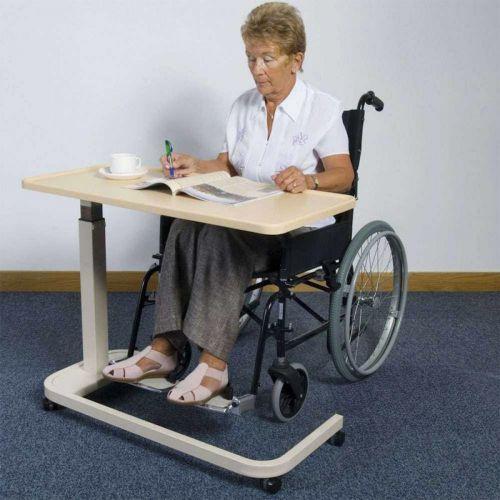 Heavy Duty Wheelchair Table