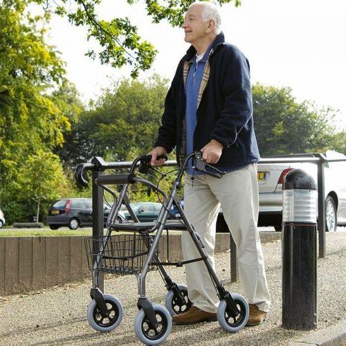 Mobility Care Heavy Duty Rollator - Titanium