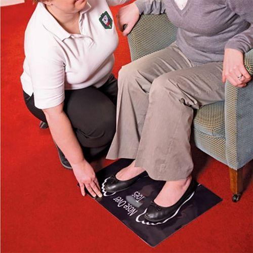 Non-Slip Floor Mat Dycem Nose Over Toes