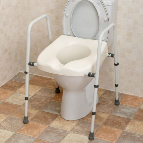 Mowbray Lite Toilet Seat and Frame