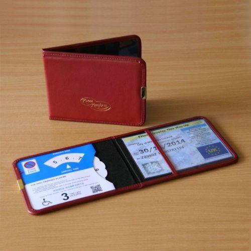 Plastic Disabled Badge Wallet