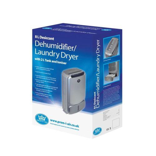 Prem-I-Air 8L Desiccant Dehumidifier/Laundry Dryer