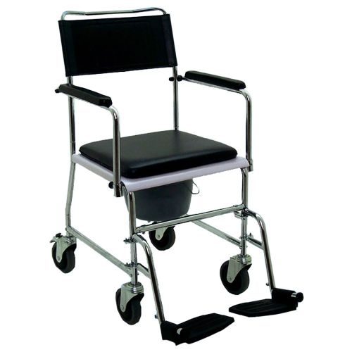Quality Mobile Commode Chair