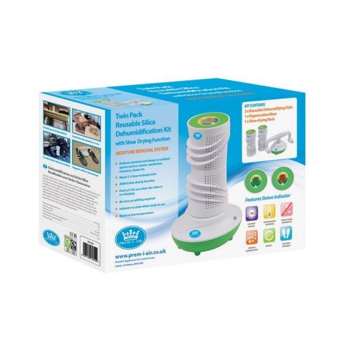 Reusable Dehumidification Kit with Shoe Drying Function