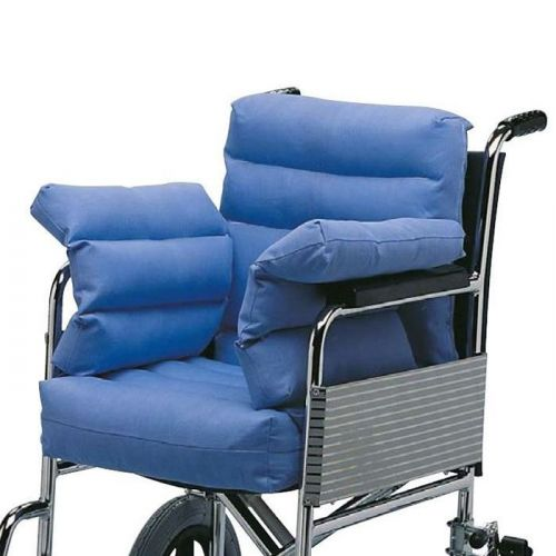 Seatpad Wheelchair With Sides And Back