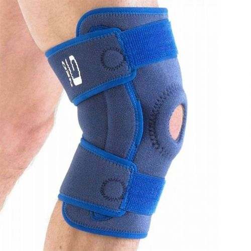 Stabilised Hinged Knee Brace with Patella Support