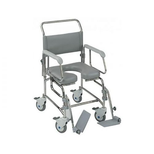 Transaqua (TA6) Attendant Propelled Shower Commode Chair