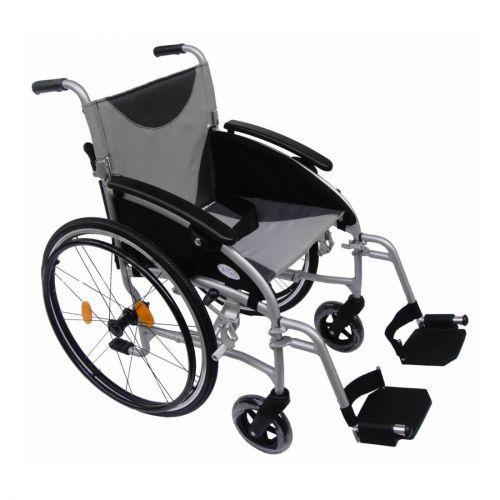 Z-Tec Lightweight Folding Aluminium Self Propelled Wheelchair