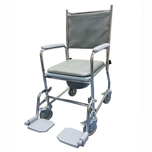 Z-Tec Fixed Height Wheeled Commode