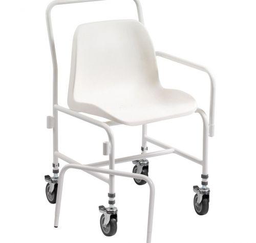 Tilton Mobile Adjustable Height Shower Chair