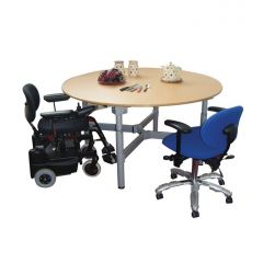 SKM Easywind Four Leg Circular Group Table