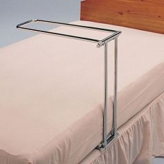 Chrome Folding Bed Table