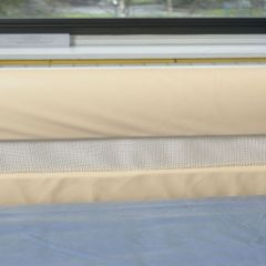 Cot Side Bumpers With Mesh