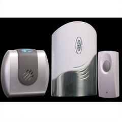 Wireless Light and Vibration Door Bell - Twin Pack