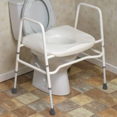 Mowbray Extra Wide Toilet Seat and Frame