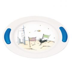 Soft Grip Children's Plate and Bowl - Adventure