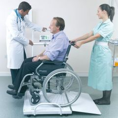 MPWC-300 Marsden Portable Wheelchair Scales with BMI