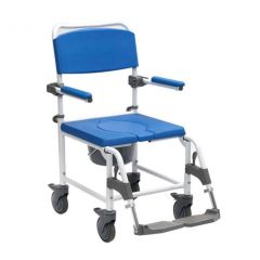 Adaptable Shower Commode Chair