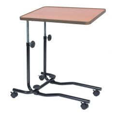 Adjustable Bed and Chair Table with Castors