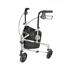 Aluminium Tri Wheel Walker