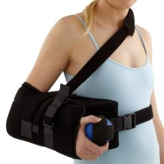 Compact Shoulder Abduction Wedge and Sling