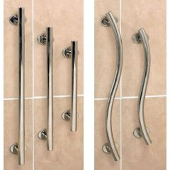 Polished Stainless Steel Grab Rails