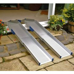 Extra Wide Adjustable Lightweight Channel Ramps