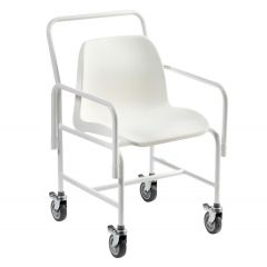 Hallaton Mobile Shower Chair Fixed Height