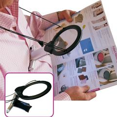 Hands-Free Magnifying Glass