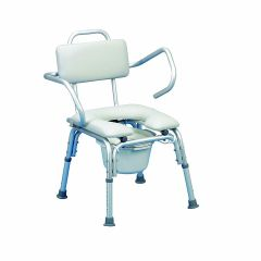 Lightweight Padded Shower Chair with Cut-Out